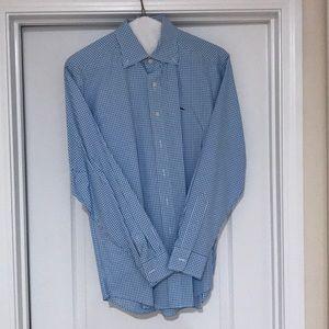Carolina Blue Vineyard Vines Button Down Shirt